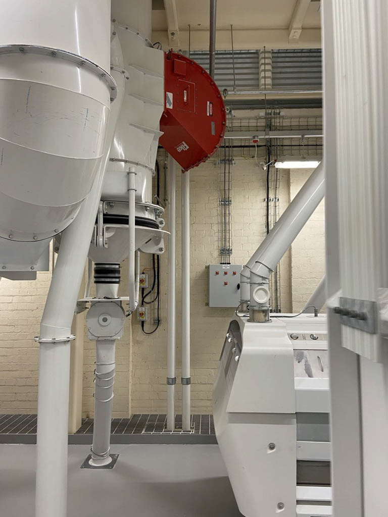 Installation of a Buhler A Mill at Heygates and Sons Ltd, Bugbrooke, Northamptonshire