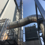 Installation of new odour removal equipment in line with the Environmental Agency requirements, at Gilbertson and Page Ltd, Welwyn Garden City
