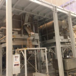 Removal and reinstallation of tea mixing plant from China to Poland