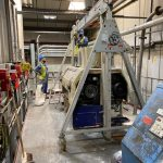 Installation of lifting gantry