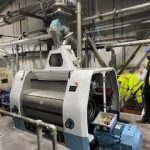 Roller mill installed with modification to aspiration